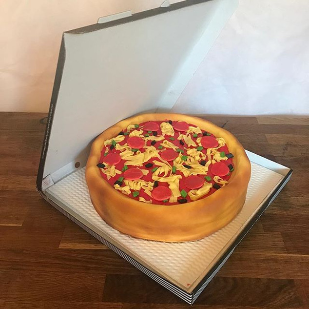 Pizza Cake #sugarcakesco #sugarcakes #pi