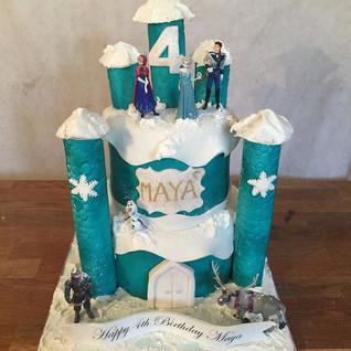 Frozen Cake #sugarcakes #sugarcakesco #c
