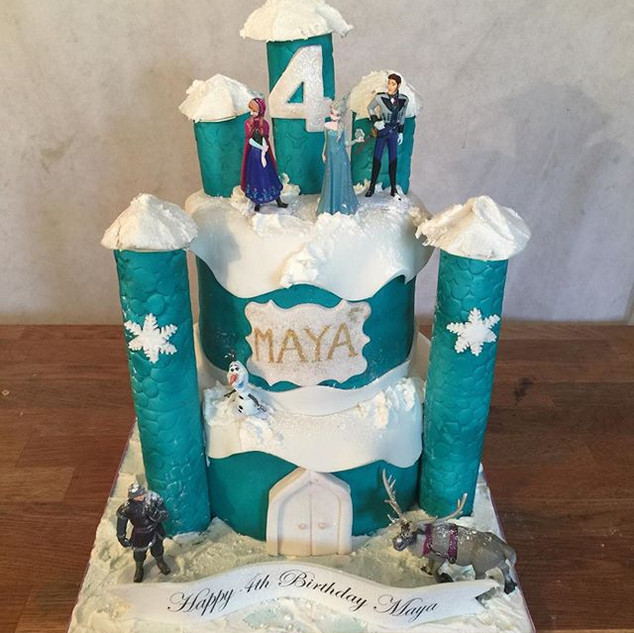 Frozen Cake #sugarcakes #sugarcakesco #c
