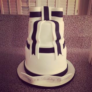 2 tier celebration cake #sugarcakesco #s