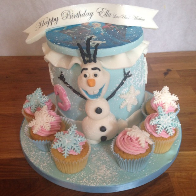 Frozen cake #sugarcakesco #sugarcakes #c