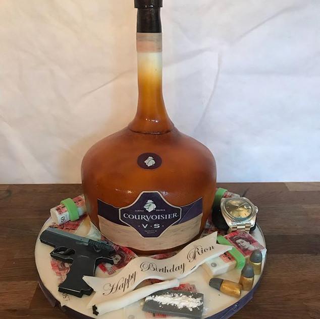 Courvoisier Vsop Cake #sugarcakesco #sug