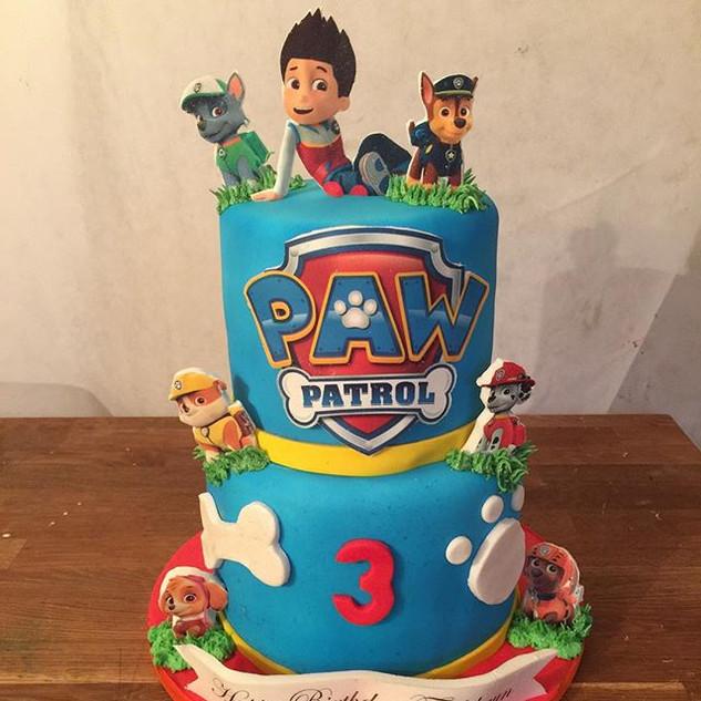 Paw patrol Cake #sugarcakesco #sugarcake