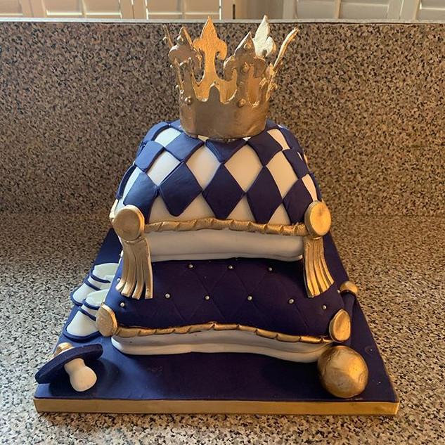 Prince pillow cake #sugarcakesco #sugarc
