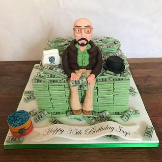 Breaking Bad Cake (all edible cake and e