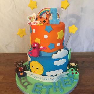 Baby TV Cake #sugarcakesco #sugar #sugar