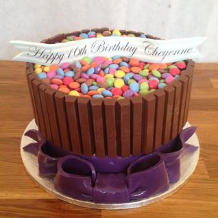 Kit Kat Cake #sugarcakesco #sugarcakes #