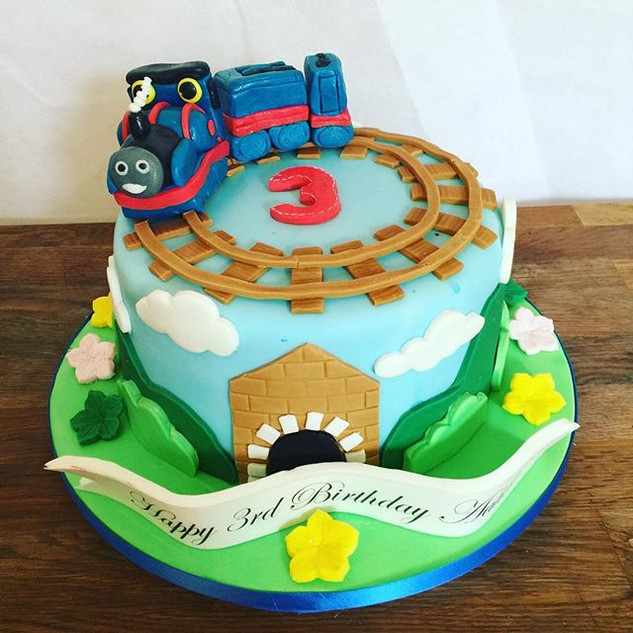 Thomas Cake #sugarcakesco #sugarcakes #c