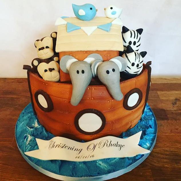 Noah's Ark Cake #sugarcakes #sugarcakesc