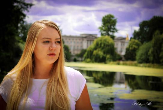 Natalia in Green Park