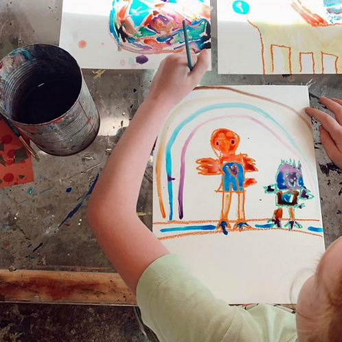 FINE ARTS CAMP FOR KIDS: ART & THE NATURAL WORLD