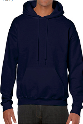 Heavy Blend Cotton Hooded Sweatshirt $16