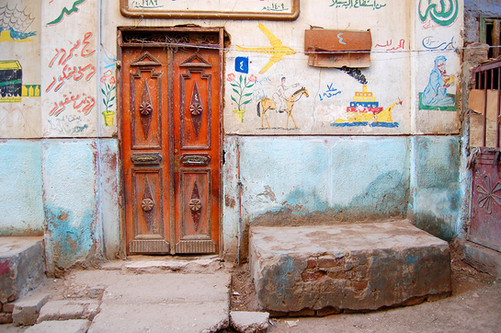 Orange Door, Egypt