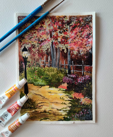 Love for Watercolors