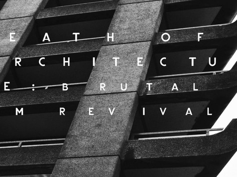 BRUTALISM: THE EVOLUTION OF RAW CONCRETE