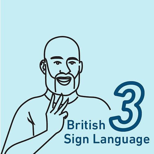 British Sign Language Chapter 3