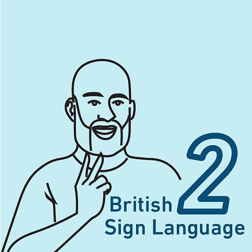 British Sign Language Chapter 2