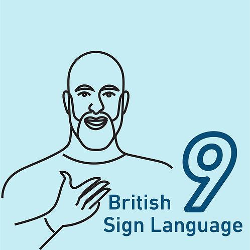 British Sign Language Chapter 9