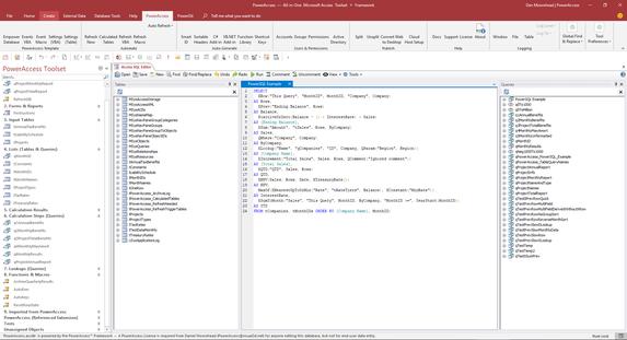 PowerAccess Screenshot - Toolset Add-in,