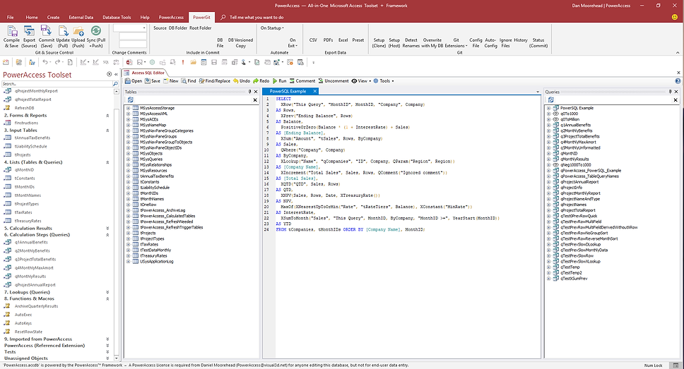 Power Access for Microsoft Access No-Code Database App Builder and Analytics Platform