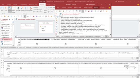 PowerAccess-Screenshot-Query Design SQL.