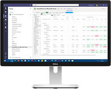 PowerSheet.ai in Microsoft Teams