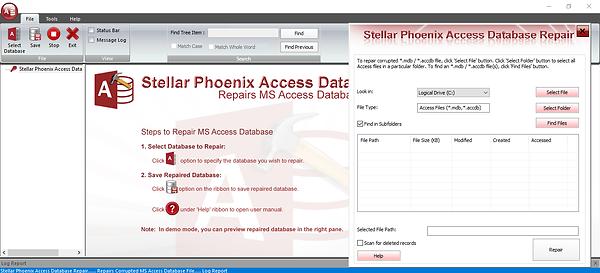 Stellar Access Database Repair Software
