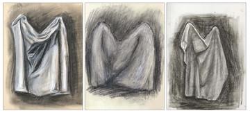 Clothes Charcoal Sketch