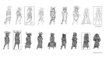 Mila (Costume Variations)