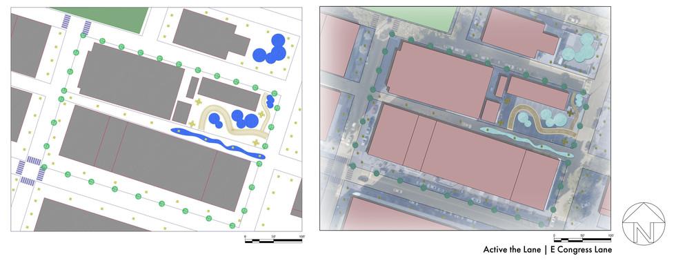 Active the Lane (Autodesk CAD)