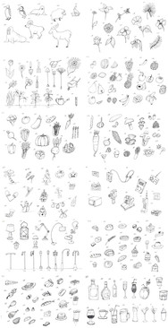 400 Sketches (2 of 2)