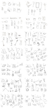 400 Sketches (1 of 2)