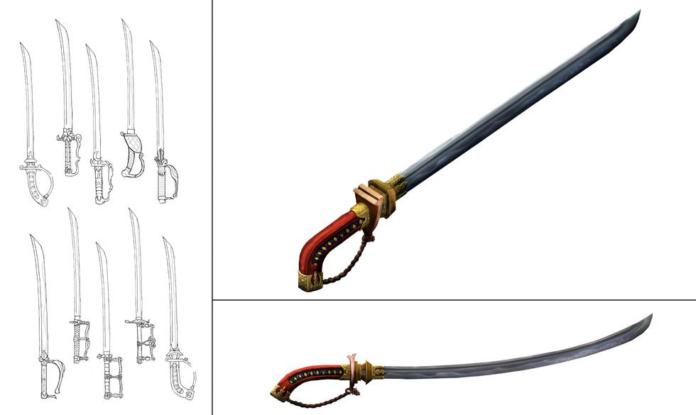 Sword (Japanese Themed)
