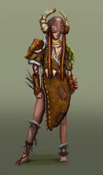 Character Design- Mila (Final)