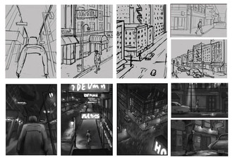 Sketches and Grayscale for Paintings