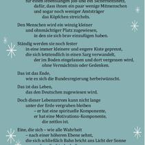 Meine Wehnachtsbotschaft für Deutschland