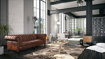 Home renovations, character home, brick, leather, exposed beam