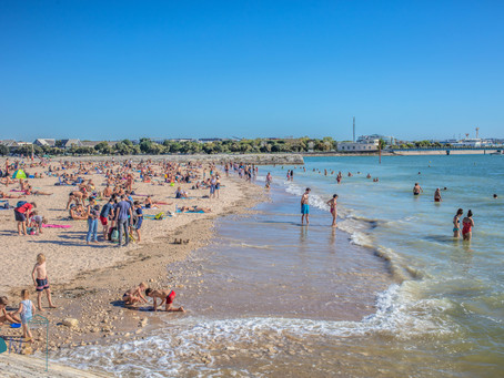 La plage à La Rochelle