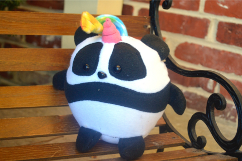 Pandicorn Panda Unicorn Plush