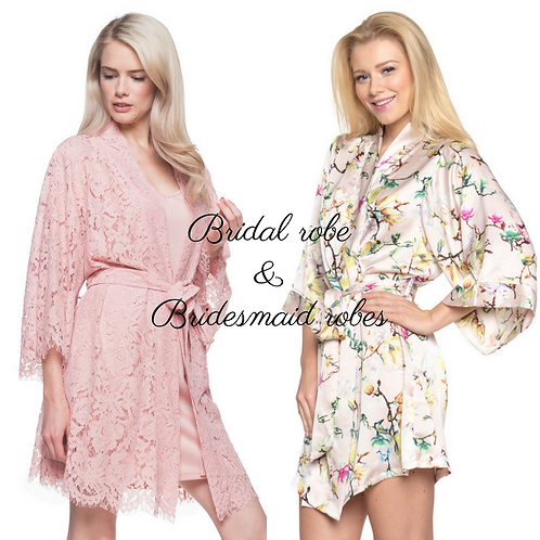 cheap Bridesmaid robes set for weddings