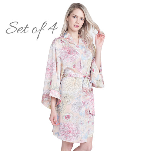 Bridesmaid Floral Robes for weddings