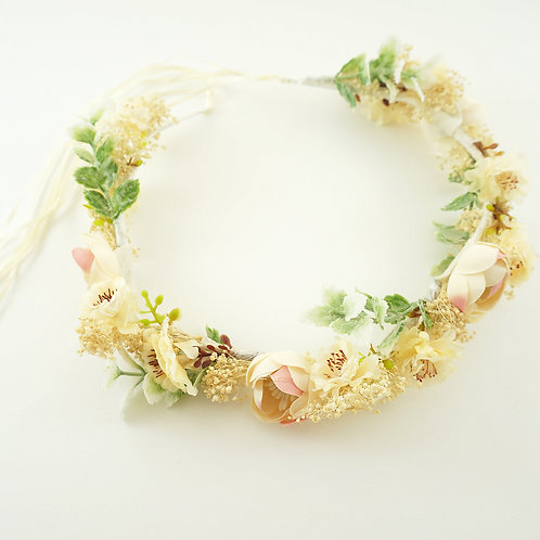 Flower Crown, Bridal Crown, Boho Wedding, Wedding Flower Crown, Flower Headband, Bridal Headpiece, Flower Crown for Brides