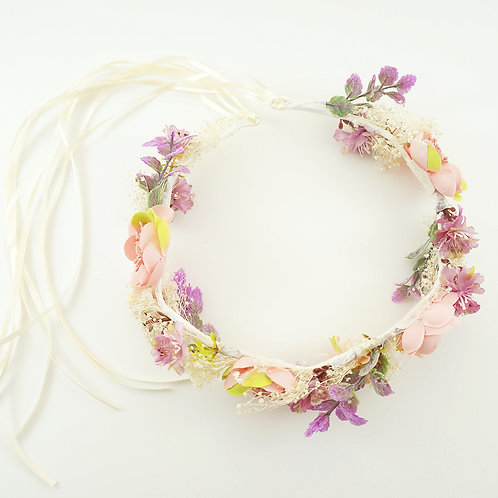 Flower Crown, Bridal Crown, Boho Wedding, Wedding Flower Crown, Flower Headband, Floral Head Wreath, Flower Crown for Brides