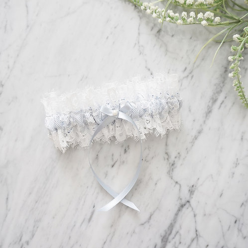 something blue lace wedding garters
