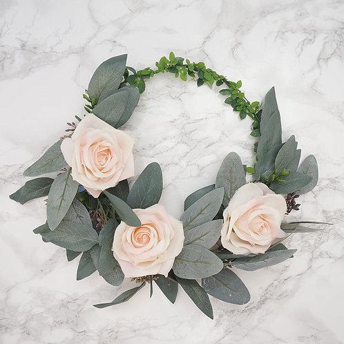 Flower Crown, Bridal Crown, Boho Wedding, Wedding Flower Crown, Flower Headband, Floral Head Wreath, Flower Crown for Brides