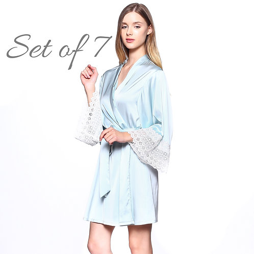 Bridesmaid Robes for getting ready