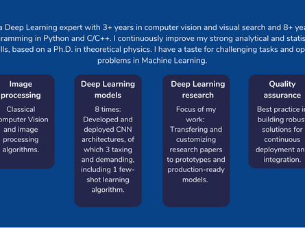 Deep Learning Engineer (m/f/d). A competency profile.