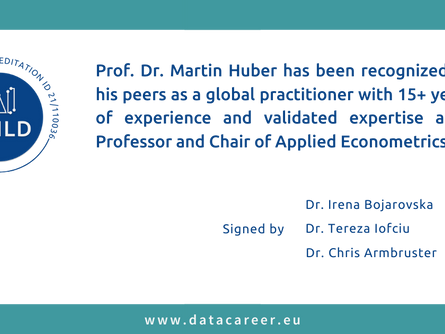 Accredited: Prof. Dr. Martin Huber