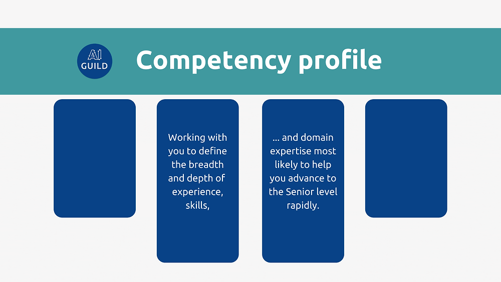 Template for the AI Guild competency profile.