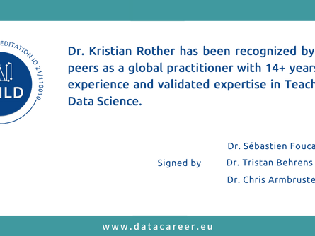 Accredited: Dr. Kristian Rother